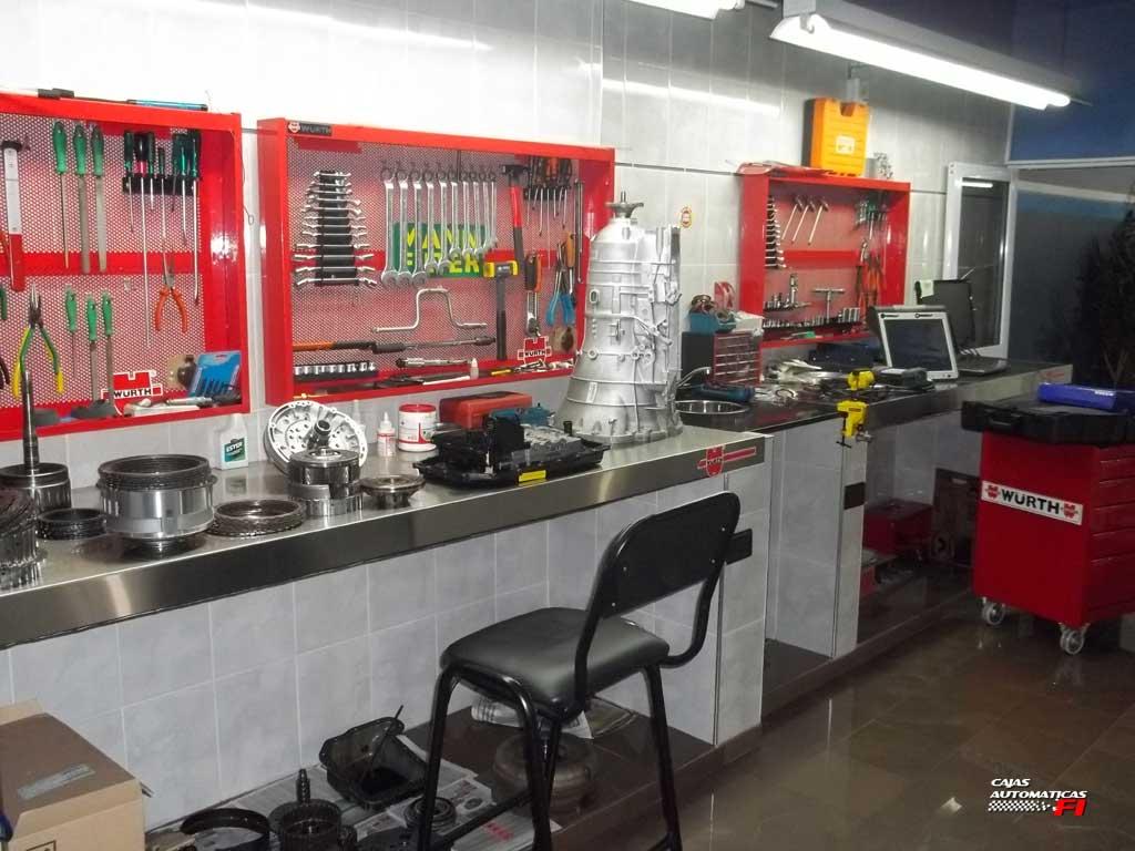 laboratorio cajas automaticas f1 srl